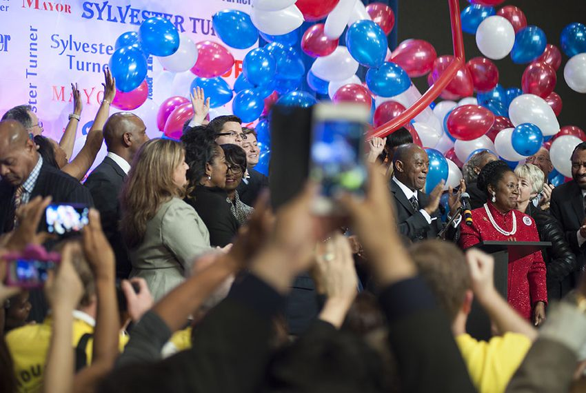 Sylvester Turner narrowly defeated opponent Bill King in a runoff to be elected mayor of Houston on Dec. 12, 2015.