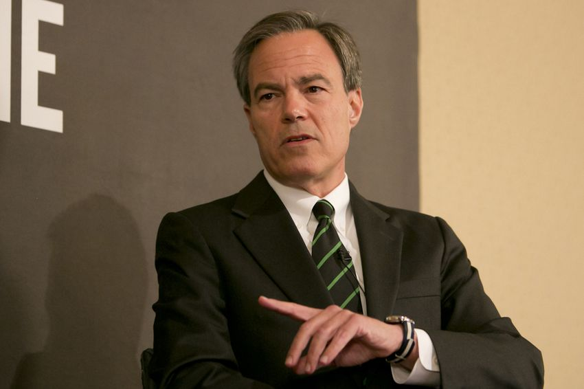 Texas House Speaker Joe Straus is shown during a June 9, 2015, interview with The Texas Tribune.