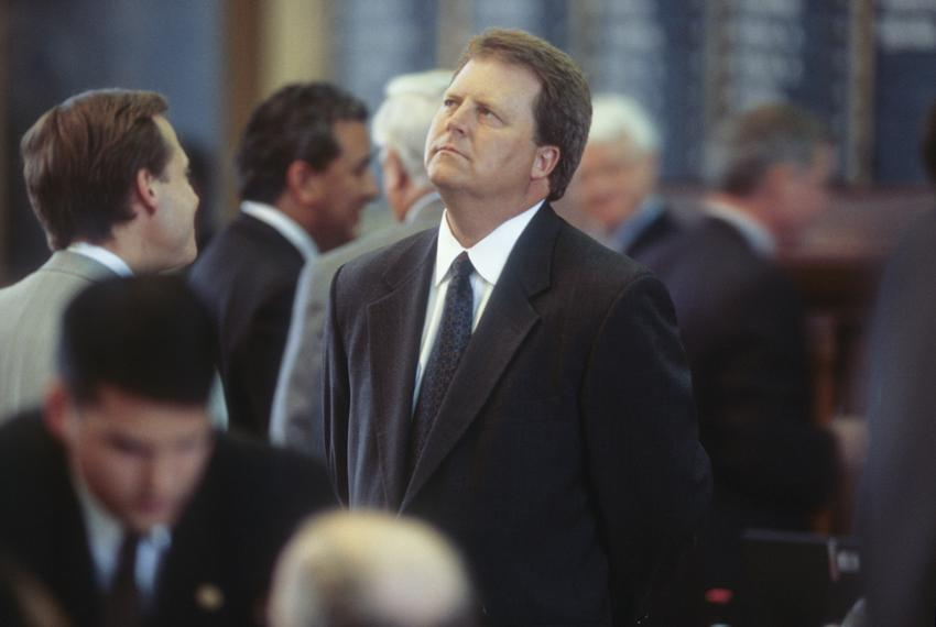 Former State Rep. Paul Sadler, D-Henderson, shown here at the Texas Capitol in May, 2001, has announced a run for U.S. Sen...