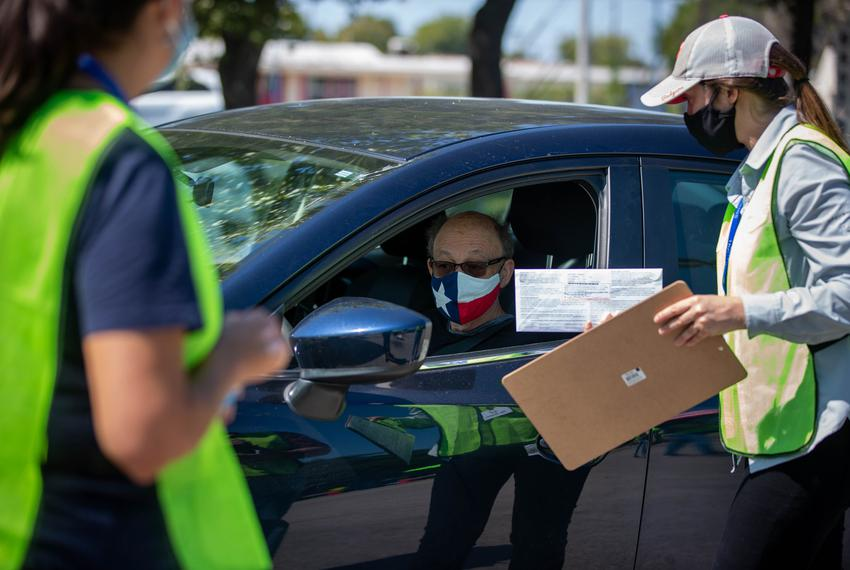 The Travis County Tax Office at 5501 Airport Blvd is now the only drive-thru location open for hand delivery of mail ballots…