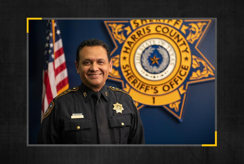 Harris County Sheriff Ed Gonzalez.