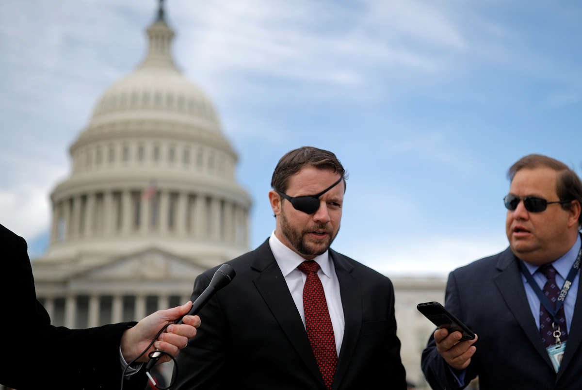 Pandemic politics ripple through Texas races, forcing U.S. Rep. Dan Crenshaw to defend his coronavirus response