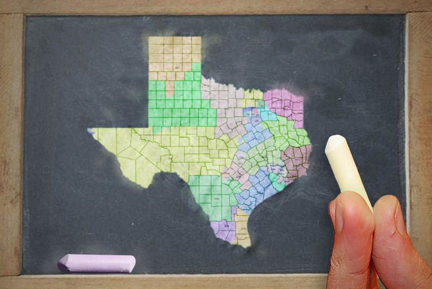 Analysis Telling Texas Political Fortunes Is Easy With A Map - Texas political map