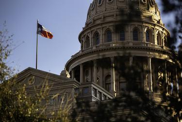 The Texas Capitol on Feb. 1, 2021.