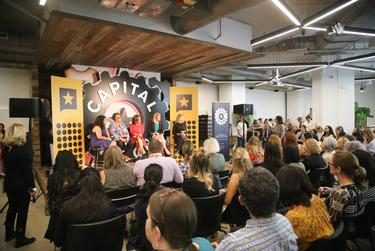 "Gender, Power and Leadership Alexa Ura moderated the ""Gender, Power and Leadership"" panel with speakers Wendy Davis, Eva Guzman, Linda Livingstone, and Senfronia Thompson at The Texas Tribune Festival on Sept. 28, 2018."