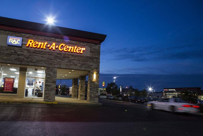 A Rent-A-Center in Newport News, Virginia on Sept. 22, 2017.