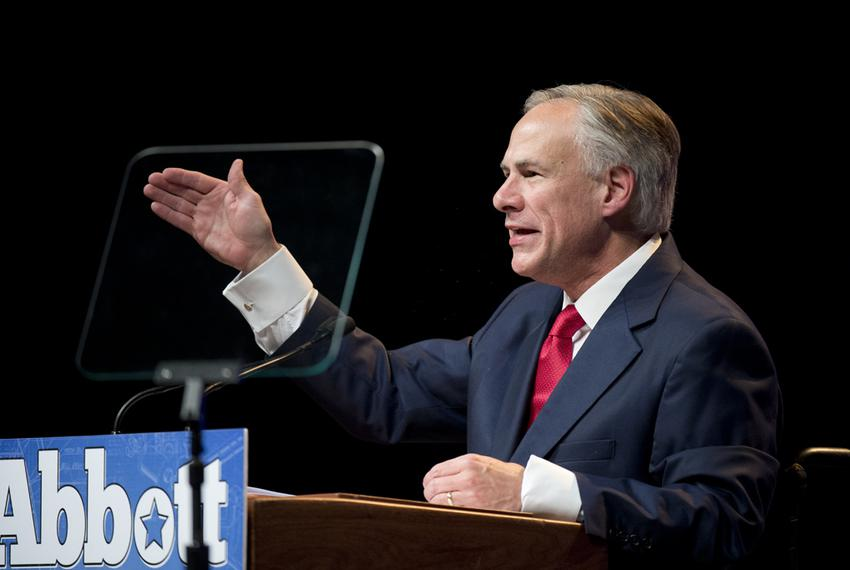Republican candidate Greg Abbott gives his vision for a new Texas if he's elected governor in a speech to Republican deleg...
