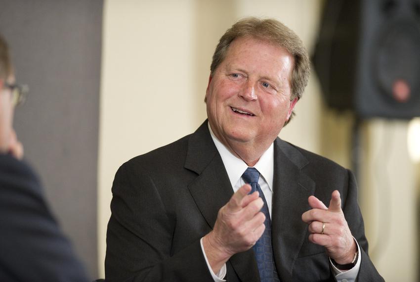 U.S. Senate candidate Paul Sadler at a TribLive event on March 22, 2012.