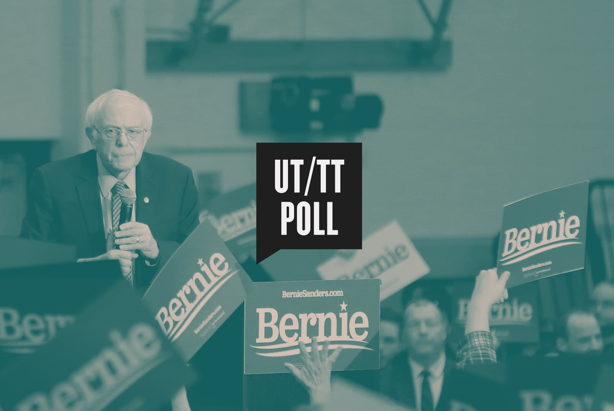 Bernie Sanders leaps to first among Texas Democrats in latest UT/TT Poll