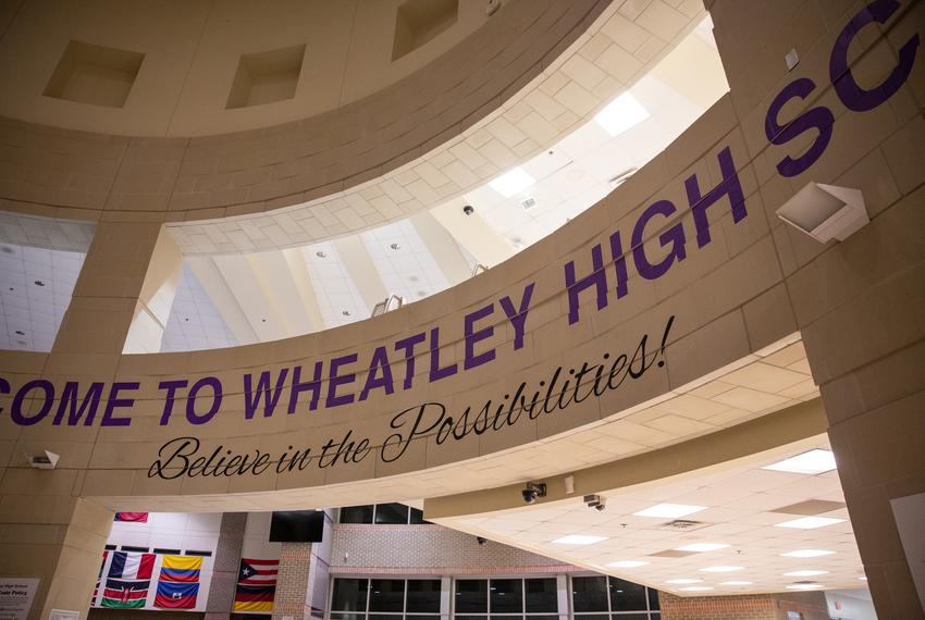 Wheatley High School on Nov. 14, 2019.