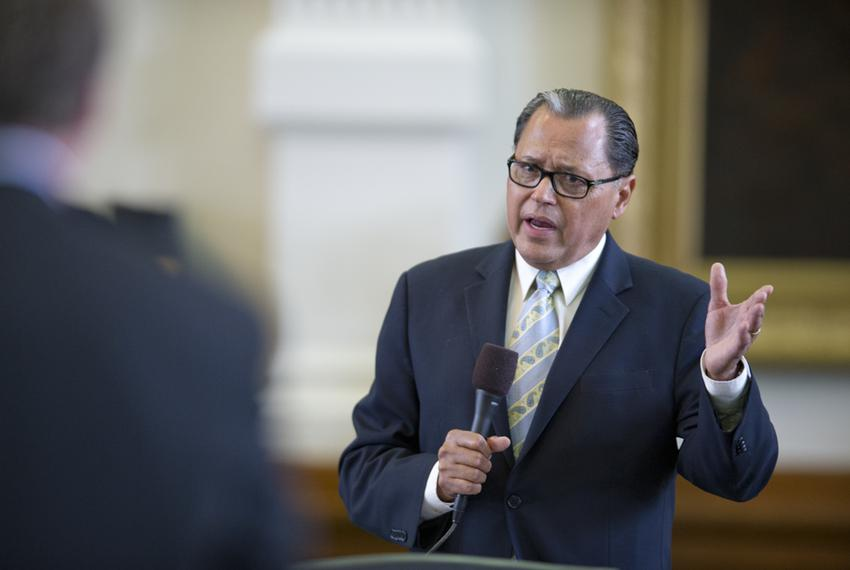 State Sen. Jose Rodriguez, D-El Paso, in April 2013.