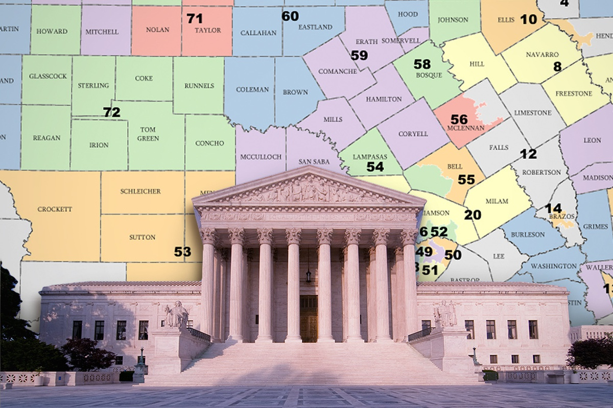 texas redistricting The supreme court agreed this week to review texas' 2003 congressional redistricting, which added five republicans to the state's delegation the plan, engineered by the former house.