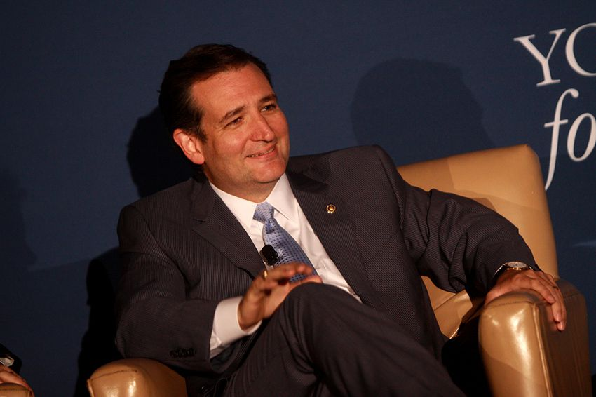 U.S. Ted Cruz speaking at the 2013 Young Americans for Liberty National Convention at George Mason University in Arlington, Va.