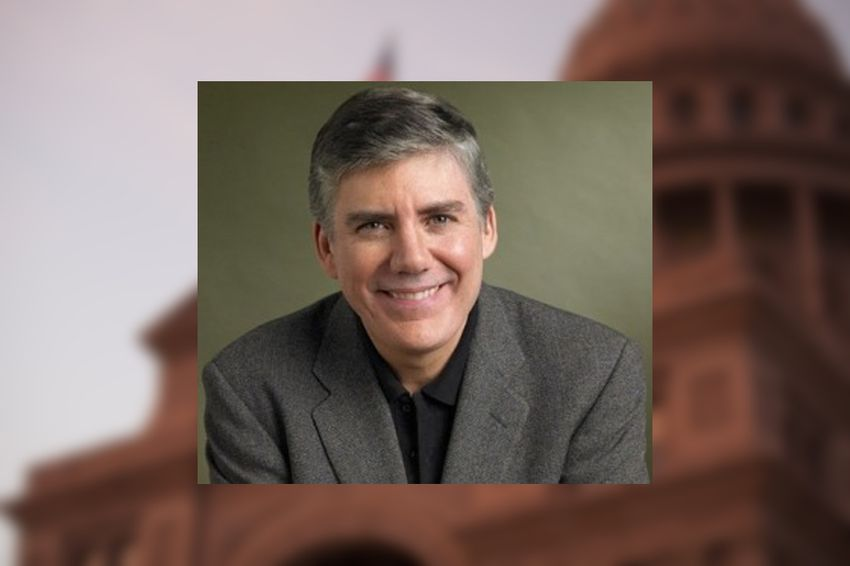 Author Rick Riordan.