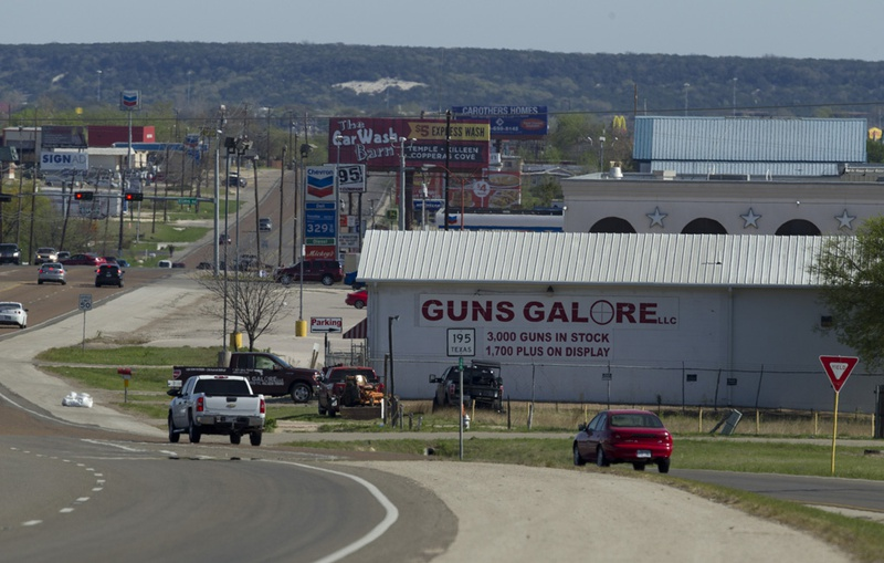 The Guns Galore shop in Killeen where alleged Fort Hood shooter Ivan Lopez purchased the handgun used in the April 2, 2014 mass slaying.