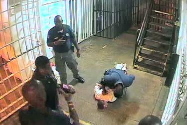 Surveillance video revealed the incident between inmate David Witt and former prison Sgt. Lou Joffrion.