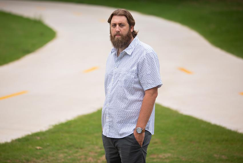 Andrew Robinson is an 8th-grade history teacher at Uplift Luna Middle School in Dallas.