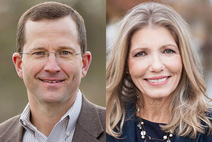 Ben Leman and Jill Wolfskill.