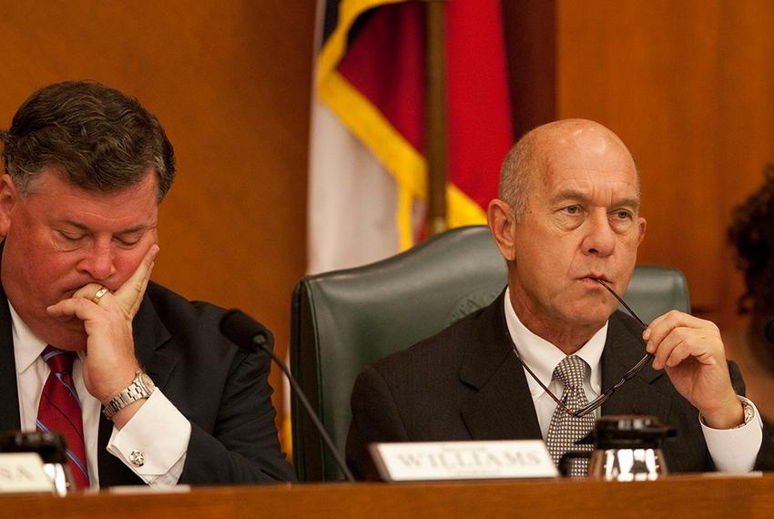 August 29th Senate Committee on Finance with newly appointed Chair Sen. Tommy Williams R-The Woodlands