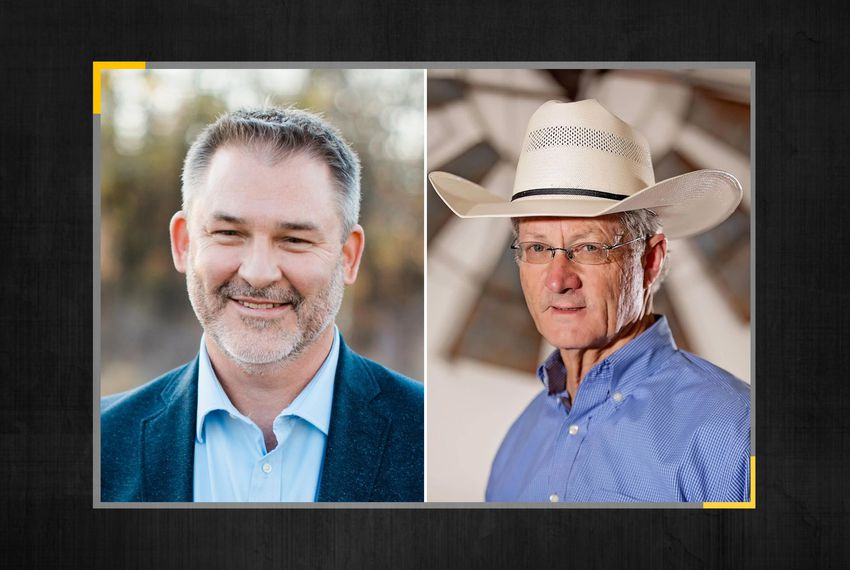 From left: Jon Francis and Glenn Rogers are among the four Republicans running for the open seat in Texas House District 60.