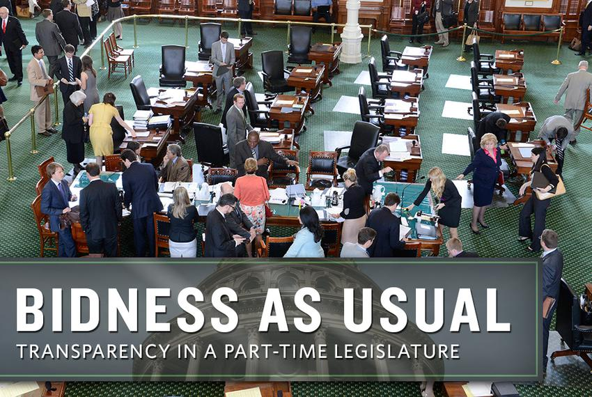 Sente floor after Health and Human Services Committee meeting on April 16, 2013.