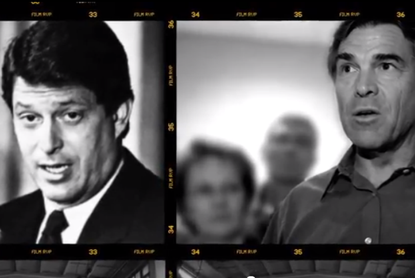 Screen grab from Ron Paul ad -- 9/6