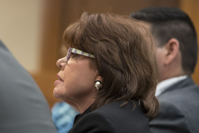 Texas Alcoholic Beverage CommissionExecutive Director Sherry Cook appears before the House Committee on General Investigating & Ethics on April 13, 2017.