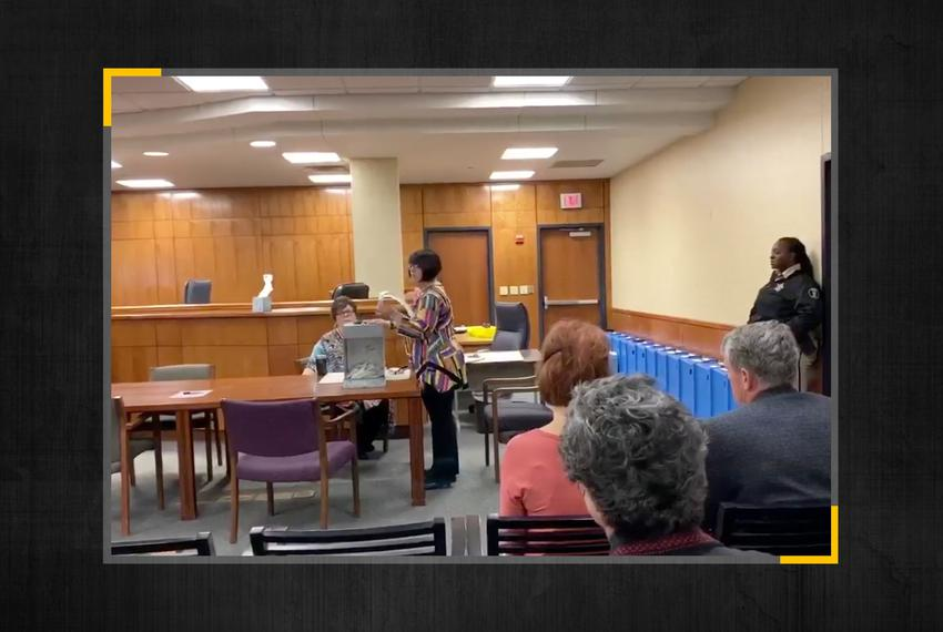 Midland officials found in a missing box from the November 2019 election containing over 800 ballots.