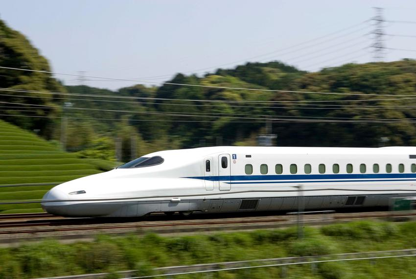 The Japanese Shinkansen is a high-speed train used by JR Central in Japan. A private company is planning to build a rail lin…