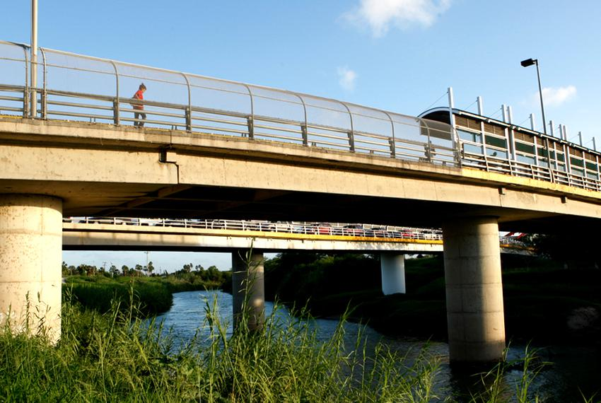 Brownsville, TX. Bridge No 1 to Matamoros.