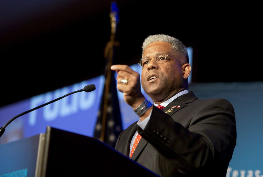 Former U.S. Rep. Allen West moved to North Texas in 2014.