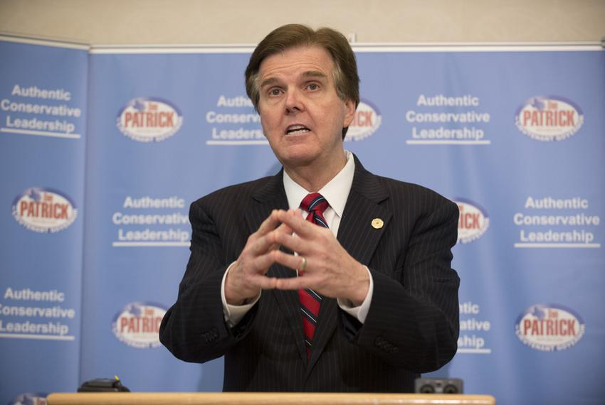 Citing a lack of good state leadership, State Sen. Dan Patrick, R-Houston, formally announces his bid for Lt. Governor on Ju…