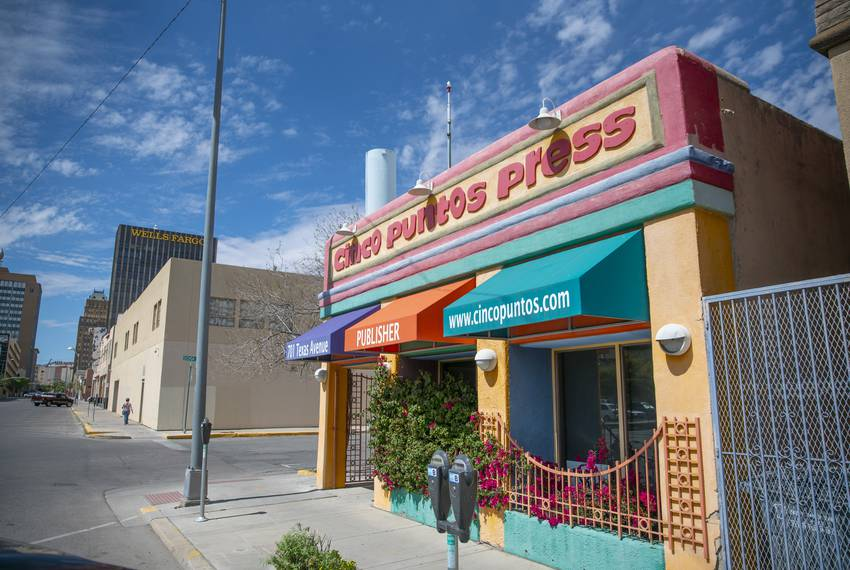 Cinco Puntos Press, an independent book publisher located near downtown El Paso, published a book co-authored by president...