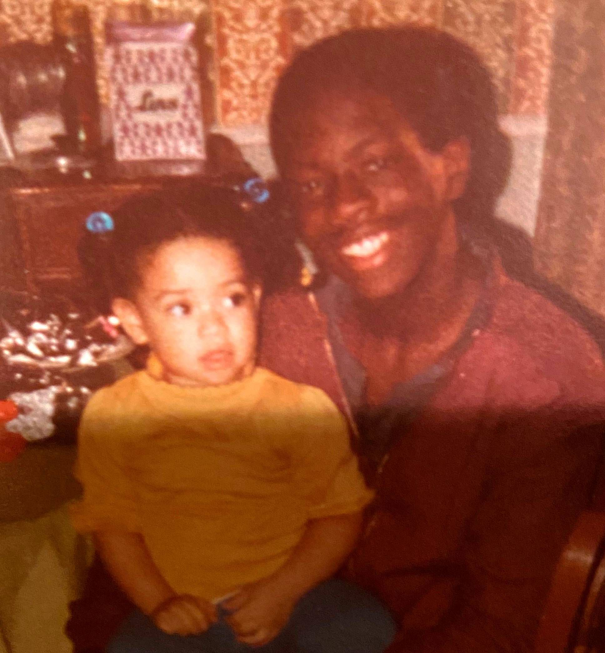 Amanda Edwards, a Democratic candidate for U.S., lost her older cousin Reggie Mason to gun violence at a young age.