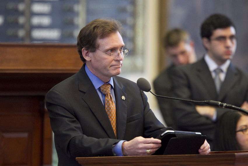 State Rep. John Zerwas, R-Simonton, lays out Senate Bill 7 in the Texas House on June 27, 2011. The measure passed, 96-48.