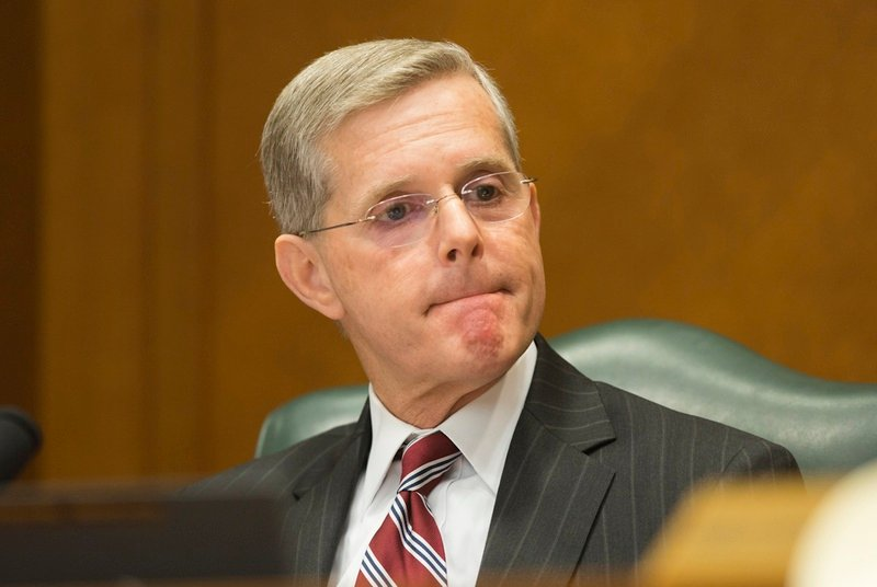 Rep. Phil King R-Weatherford during a September 13, 2016 Select State & Federal Power & Responsibility committee hearing
