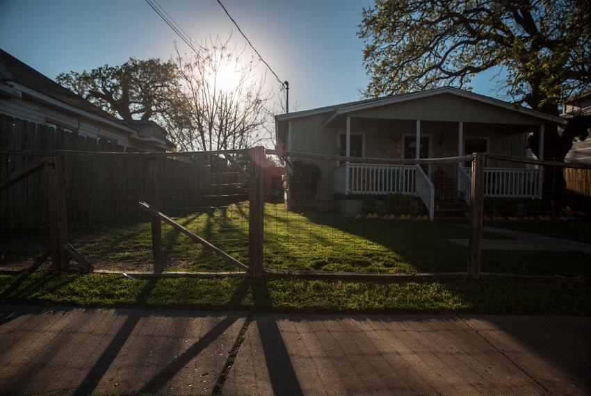 An East Austin neighborhood.