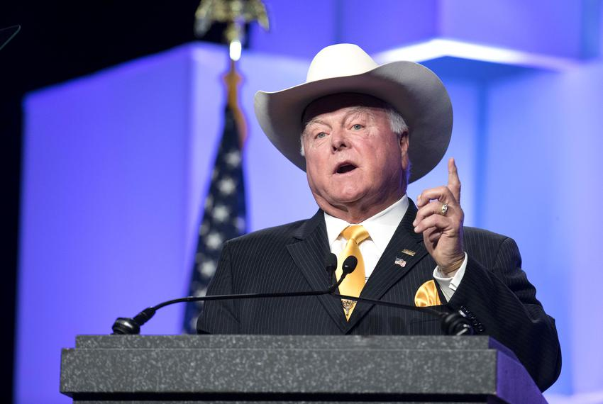 Agriculture Commissioner Sid Miller addressed delegates at the Texas Republican Convention. June 16, 2018.