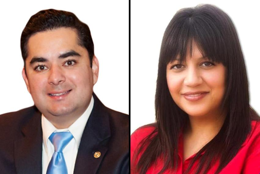 State Rep. Jose Manuel Lozano, R-Kingsville, (l)  faces Democrat Kim Gonzalez in HD 43.