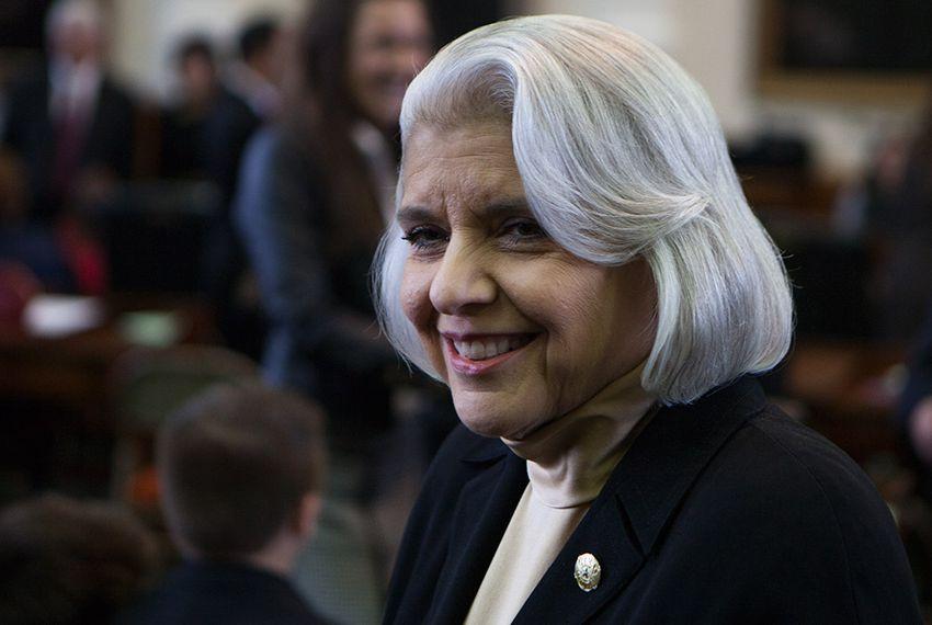 Sen. Judith Zaffirini, D-Laredo, on opening day of the 83rd legislative session, Jan. 8, 2013.