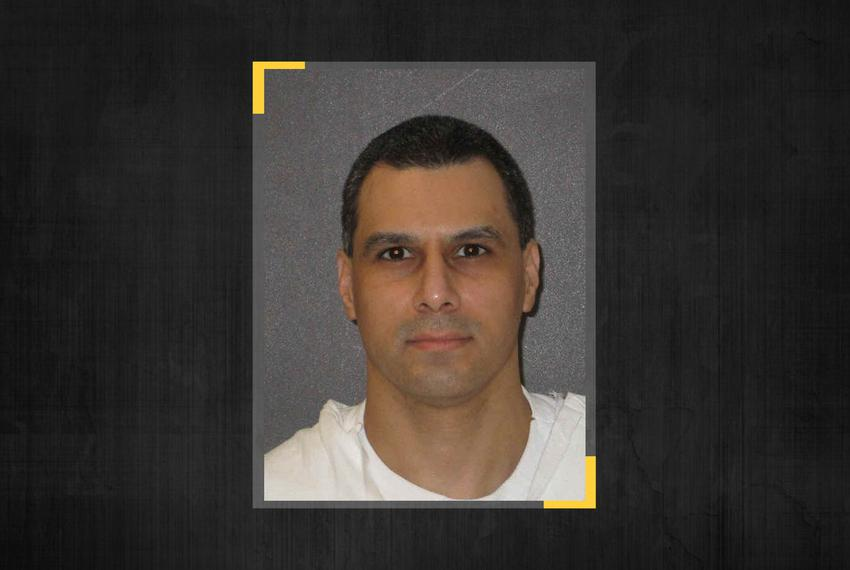 Death row inmate Ruben Gutierrez.