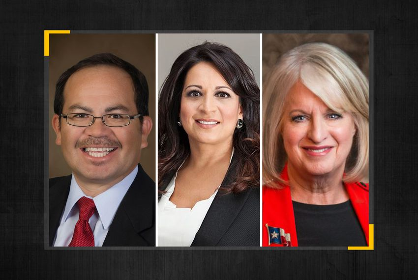 From left: Democrat Art Fierro won the special election to replace former state Rep. Joe Pickett, D-El Paso, and Democrats Christina Morales and Melissa Noriega are headed to a runoff for the vacant House seat in Houston.