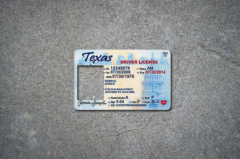 Proof of legal status now required for state ids the for Texas temporary drivers license template