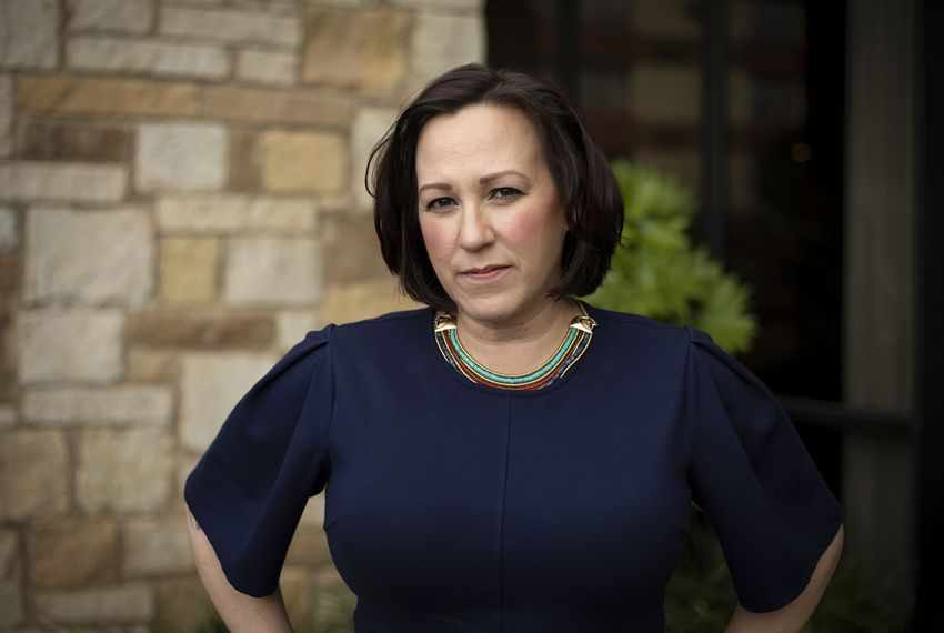 """In Texas, foreign policy and national security is a kitchen-table issue because everyone has someone [they know] in uniform,"" says MJ Hegar, a Democratic candidate for U.S. Senate."