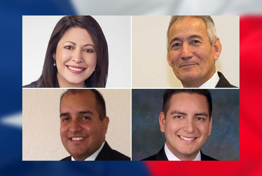 Democrat Mary Ann Perez is challenging state Rep. Gilbert Peña, R-Pasadena (top right), in House District 144; in another re…