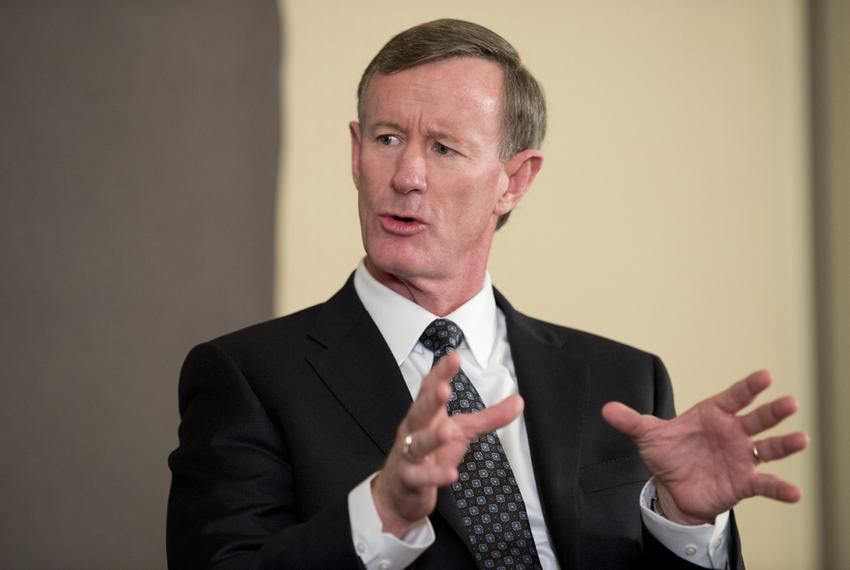 UT System Chancellor Adm. William McRaven at TTEvents on Feb. 5, 2015