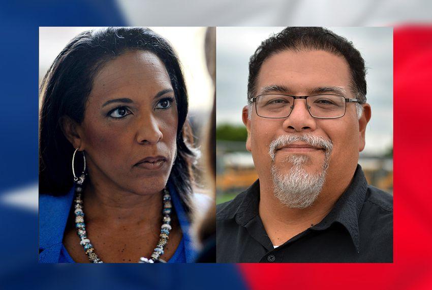 State Rep. Dawnna Dukes, D-Austin and Republican challenger Gabriel Nila