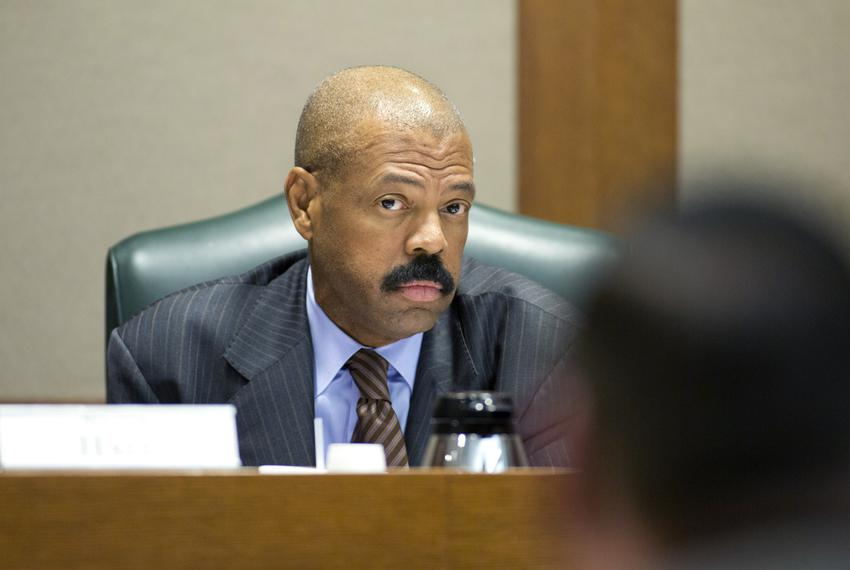 Sen. Boris Miles D-Houston during a February 22, 2018 Committee on Election Security