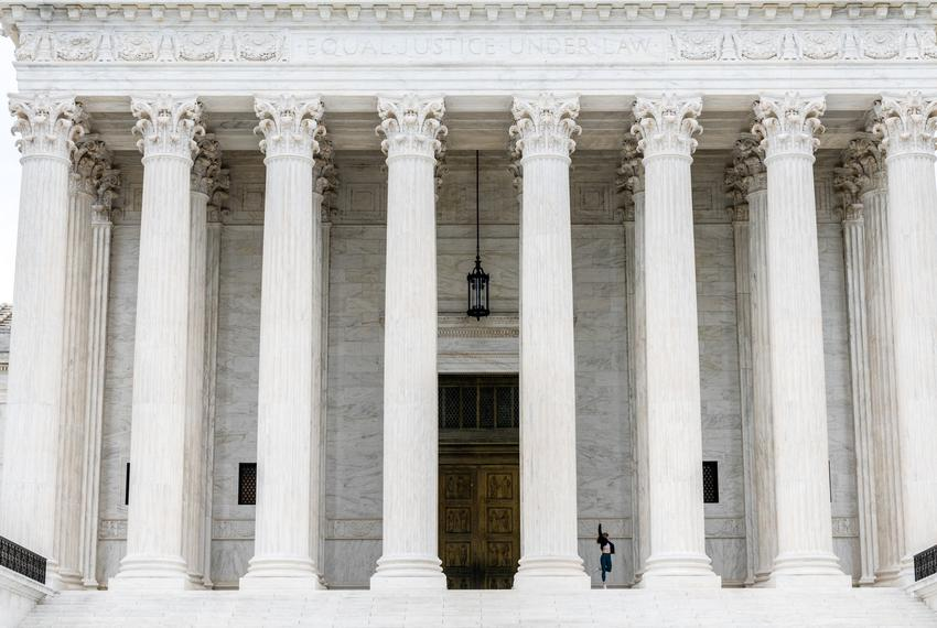 The Supreme Court in Washington on Sept. 21, 2021.