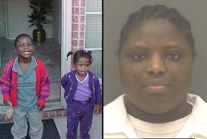In 2004, Davontae Marcel Williams, on the left, was found starved to death. Lisa Ann Coleman, on the right, is scheduled to …